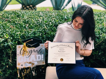 Graduate from UCF